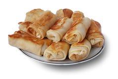 Pancakes / fried food Stock Image