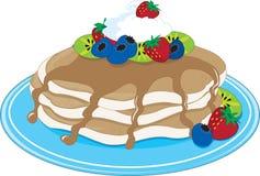 Pancakes Fruit Stock Photo