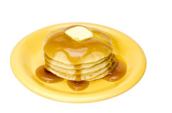 Pancakes Isolated Royalty Free Stock Image