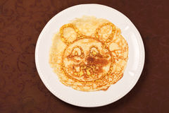 Pancakes for kids Stock Photo