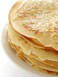 Pancakes pile Royalty Free Stock Photography