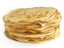Pancakes pile Stock Image