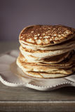 Pancakes on a plate Stock Images