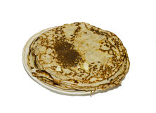 Pancakes on the plate. Stock Photos