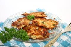 pancakes potato Στοκ φωτογραφία με δικαίωμα ελεύθερης χρήσης