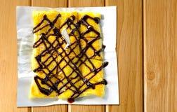 Pancakes roti Stock Photo