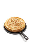 Pancakes or Russian Blintzes Royalty Free Stock Images