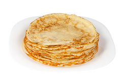 Pancakes for Shrove Tuesday Stock Photography