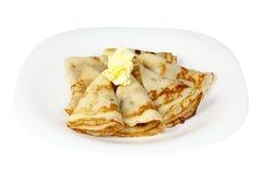 Pancakes for Shrove Tuesday Stock Photos