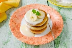 Pancakes. Shrove Tuesday Royalty Free Stock Image