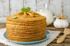Pancakes. Shrove Tuesday Royalty Free Stock Photos