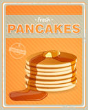 Pancakes Sign Stock Photos