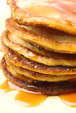 Pancakes stack Royalty Free Stock Photography