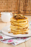 Pancakes stack Stock Photo