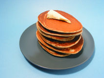 Pancakes stack on a plate Stock Photography
