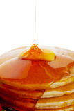 Pancakes With Syrup Royalty Free Stock Images