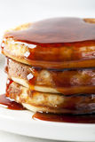 Pancakes with Syrup Stock Images
