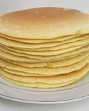 Pancakes tower stock photos
