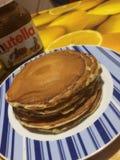 pancakes tumblr 🥞💚 royalty free stock images