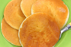 Pancakes up Close Royalty Free Stock Images