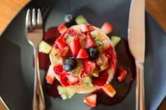 Pancakesfruit Royalty Free Stock Image