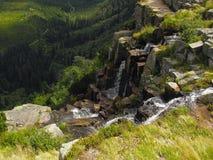 Pancava-Wasserfall Lizenzfreies Stockbild