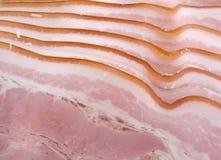 Pancetta affumicata Fotografie Stock Libere da Diritti