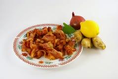 Pancetta affumicata tradizionale Fotografia Stock
