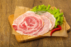 Pancetta Stock Photography