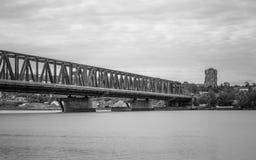 Pancevacki most - Beograd, Srbija Stock Images