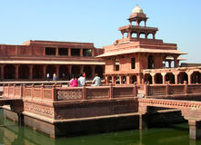 Panch Mahal, Agra stock photo