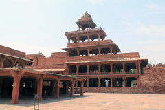 Panch Mahal Fatehpur Sikri Стоковые Фото