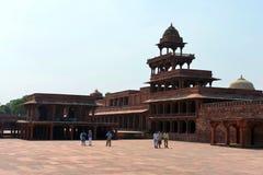 Panch Mahal w Fatehpur Sikri kompleksie Obraz Royalty Free