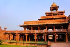 Panch Mahal w Fatehpur Sikri, Uttar Pradesh, India zdjęcie stock