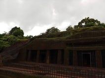 Pandava caves royalty free stock photo
