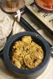 Panch Pooran Tarkaari - mezcla vegetal cinco indios. Fotografía de archivo libre de regalías