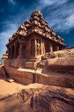 Panch Rathas Monolithic Hindu Temple. India Stock Photos