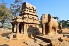Pancha Rathas Stock Image