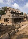 Pancha Rathas - Mamallapuram - India Royalty Free Stock Images