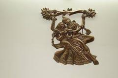 Panchaloha Radha Krishna стоковая фотография