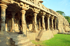 Panchapandava Cave Temple Royalty Free Stock Photography