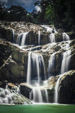 Panching Waterfall. Slow shutter picture of Panching Waterfall Stock Photos