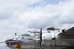 Panchito B25J轰炸机 免版税库存照片