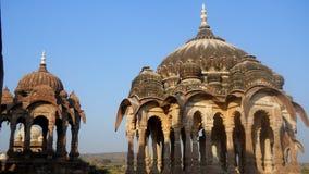 Panchkunda Mandore Jodhpur Rajasthan India. Kings Memorial monuments historical place Royalty Free Stock Photos