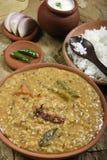 Panchkuti dal é uma combinação de lentilhas e de especiarias frescas Foto de Stock