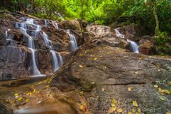 Panchur waterfall kenyir from right Stock Images