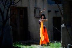 Pancia-danzatore Fotografia Stock