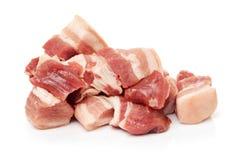 Pancia di carne di maiale fotografie stock