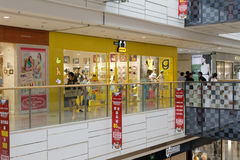 Pancoat clothing store in wanda mall Stock Image