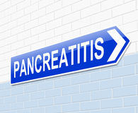 Pancreatitis concept. Stock Image